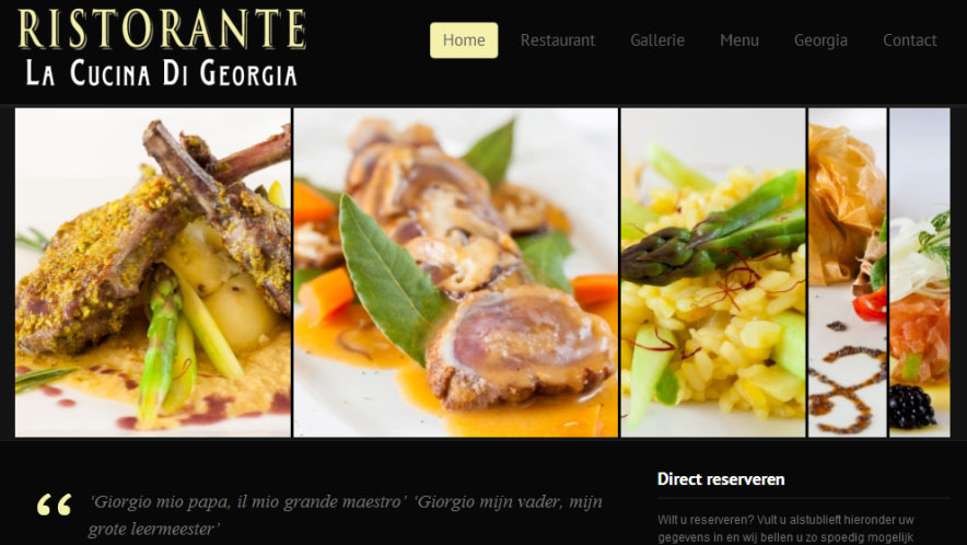 La-cucina-di-georgia-website-homepage